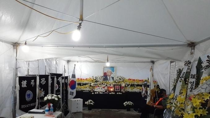 8월28일까지 광화문 광장에서 '백선엽장군추모문화예술제'가 열린다